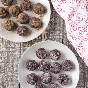 Simple Beet Brownie Bites