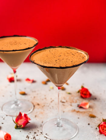 Chocolate Almond Martini