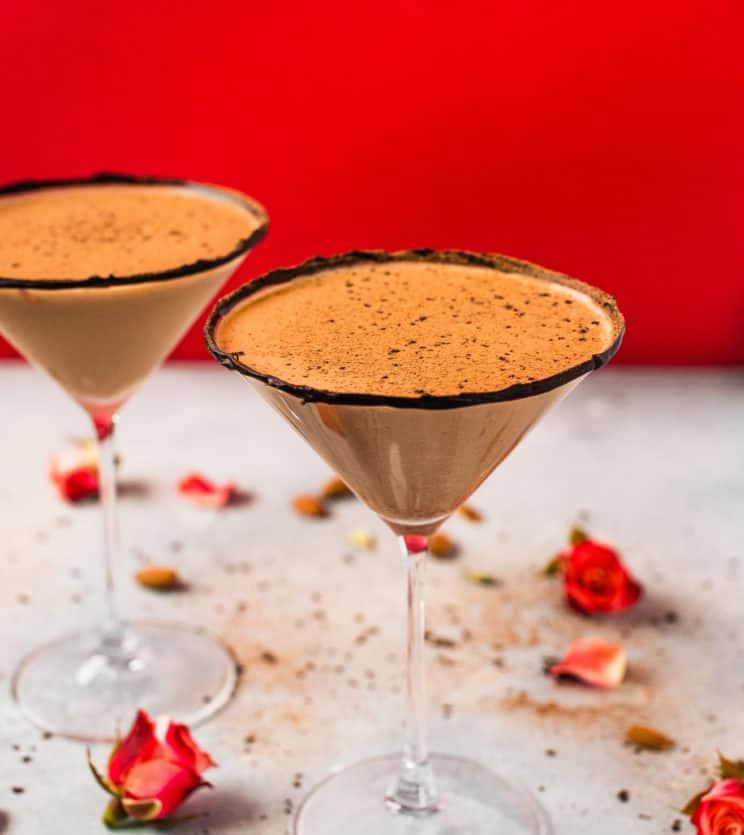 Chocolate Almond Martini
