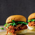 Vegan Sloppy Joes made with spelt berries and lentils. Super hearty and flavorful!