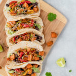 1-Pan-Sweet-Potato-&-Black-Bean-Tacos-by Eat. Love. Namaste.