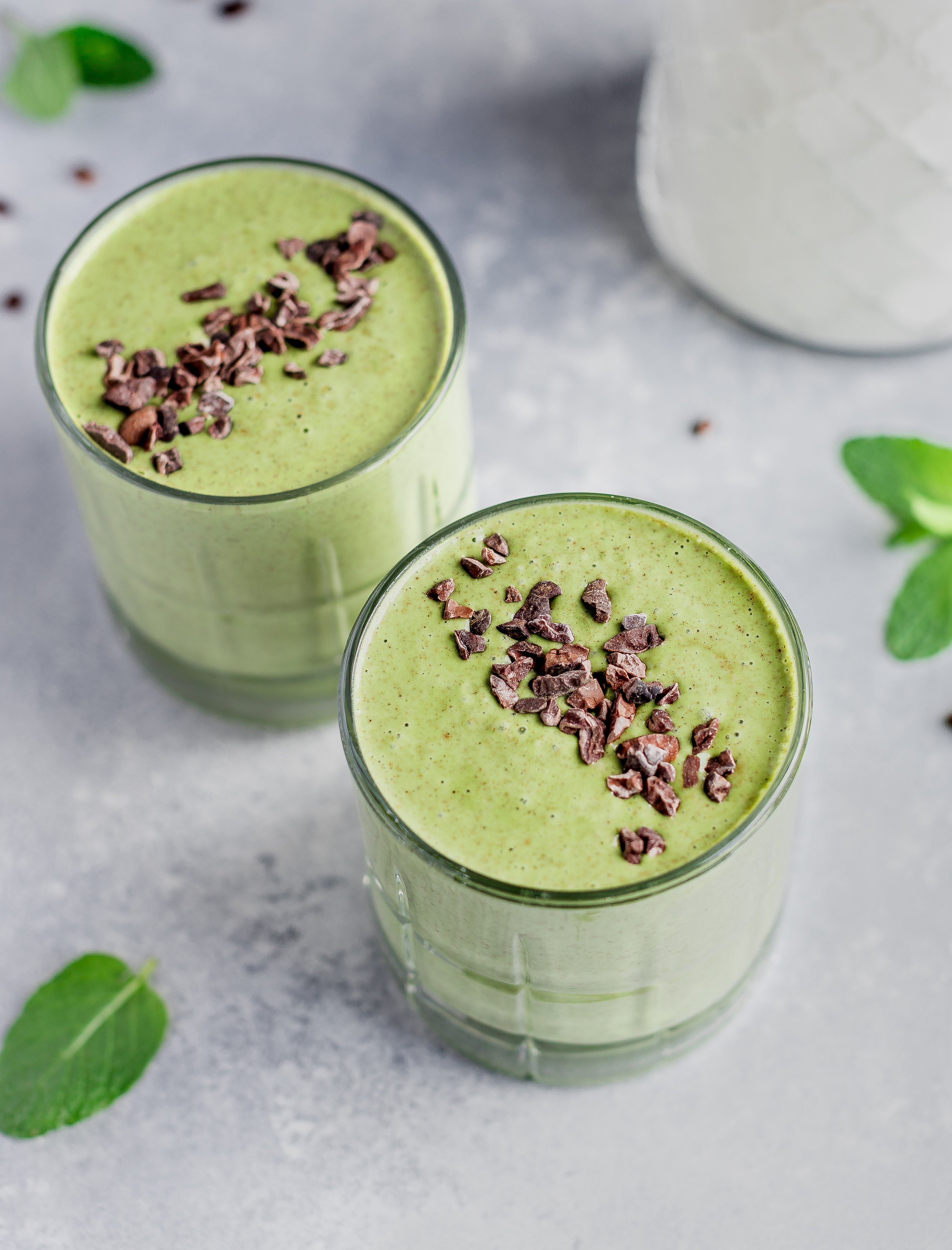 Mint Chocolate Chip Smoothie