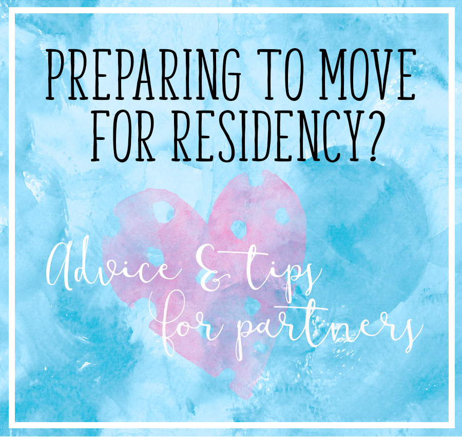 Preparing to Move For Residency