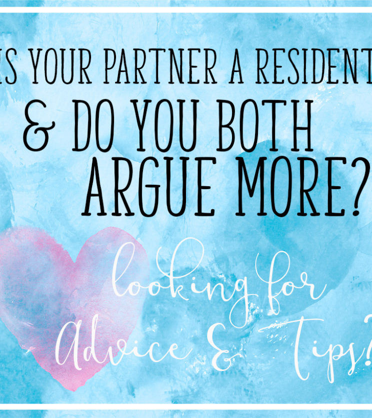 Do you and your medical partner argue more?