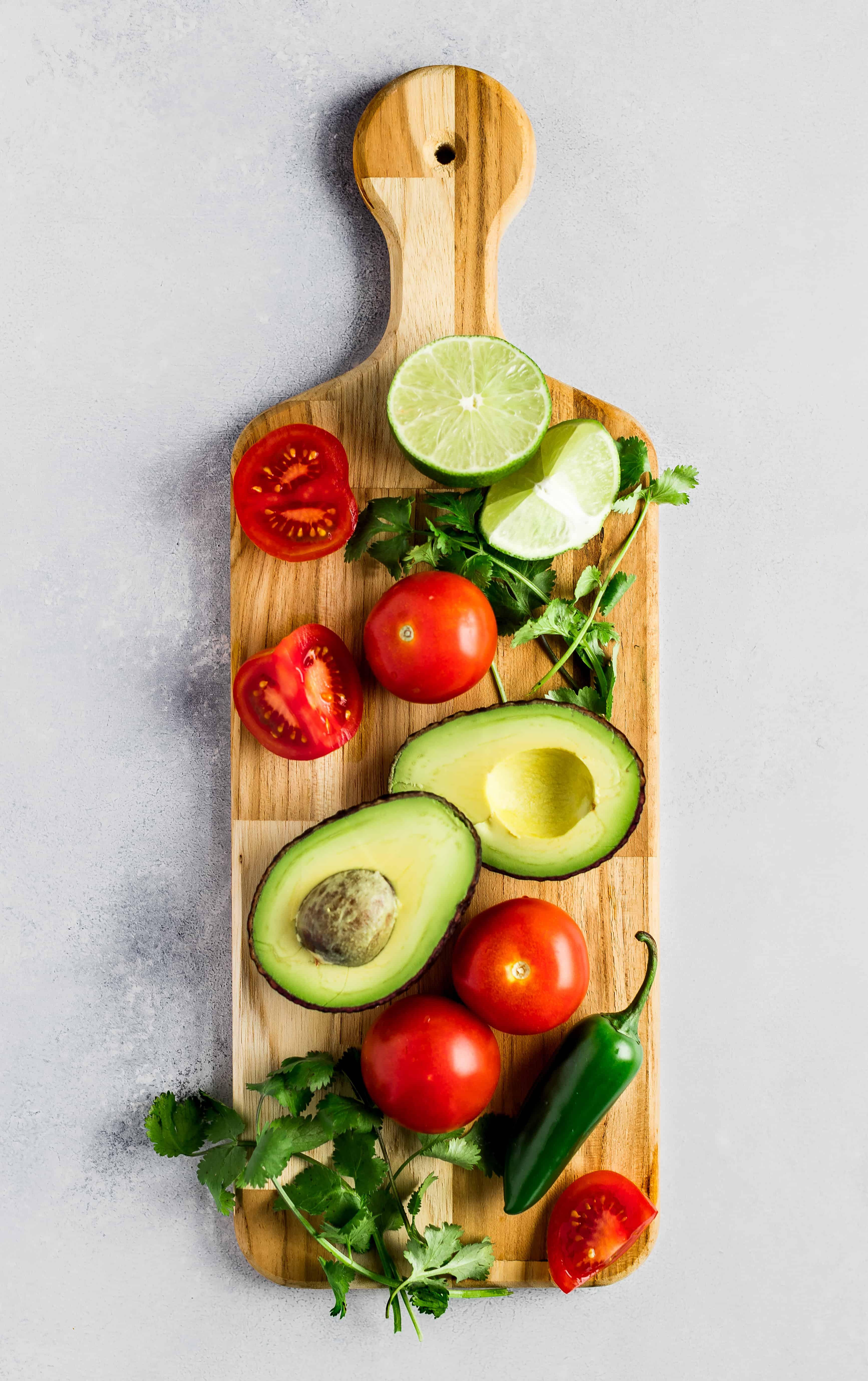 Simple Chunky Avocado Salsa
