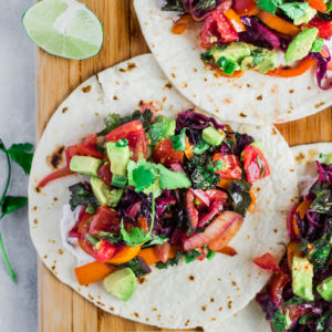 Simple Veggie Tacos