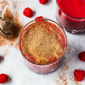 Velvety Beetroot & Raspberry Smoothie