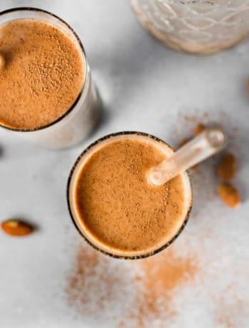 Homemade Chocolate Almond Milk