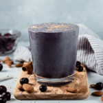 Blueberry Almond Pie Smoothie