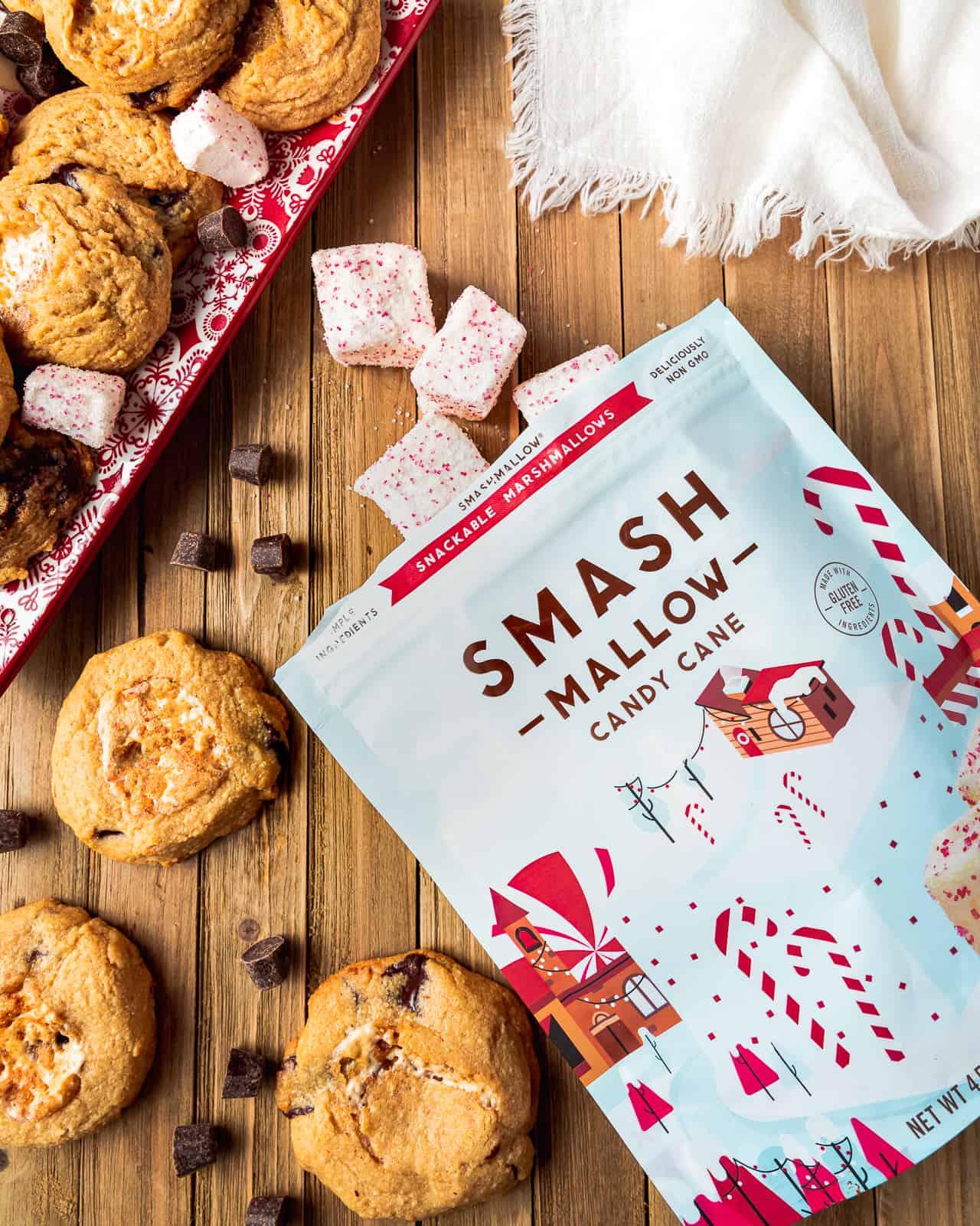 Smash Mallow Candy Cane Marshmallows