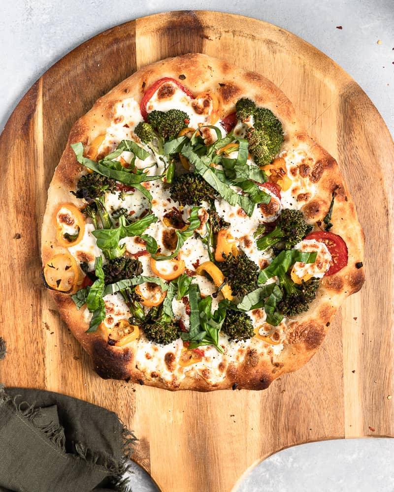 Friday Night Veggie Pizza