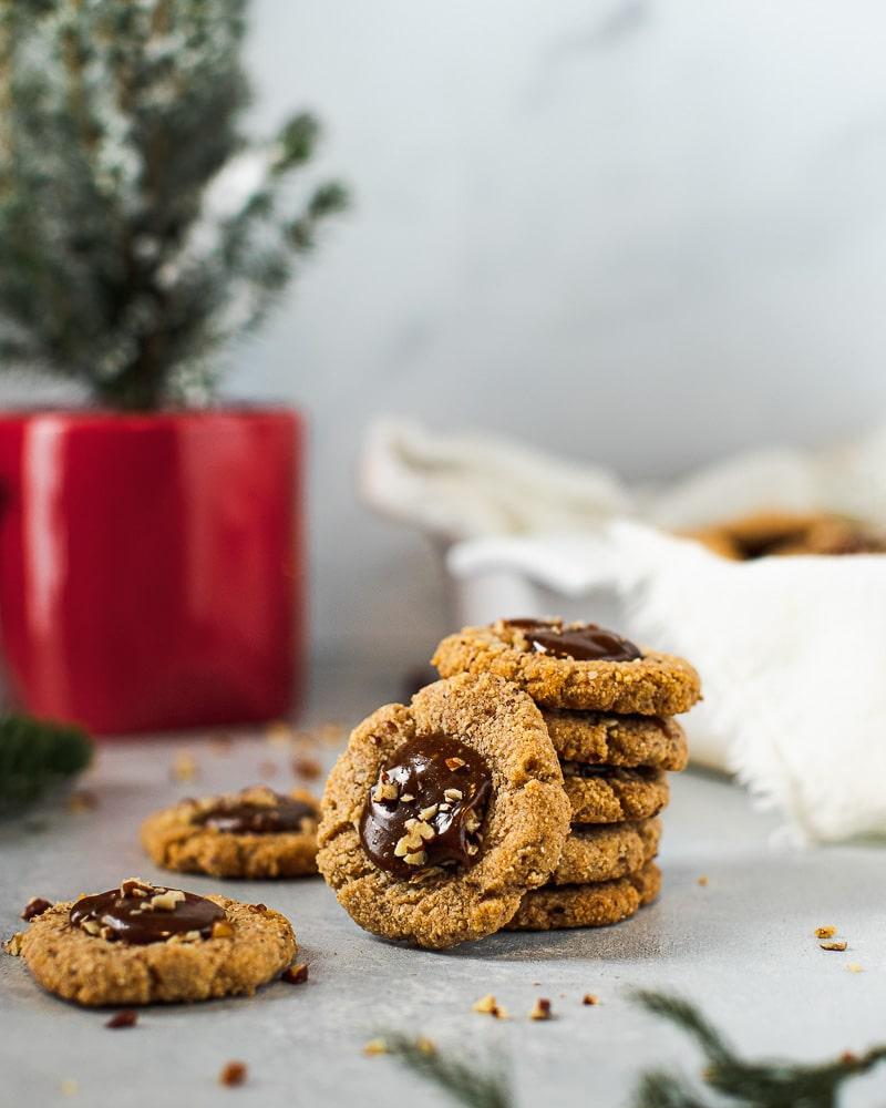 pecan carmel cookies