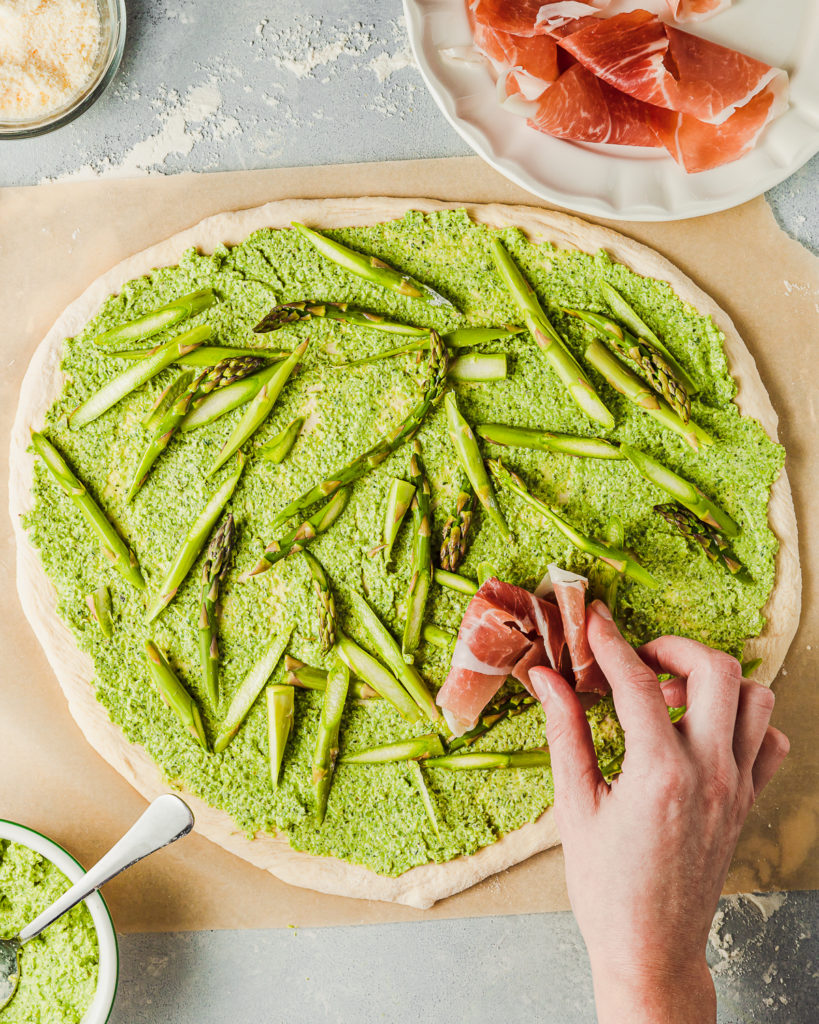Green Pea and Asparagus