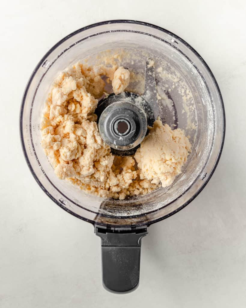 pie dough mixture
