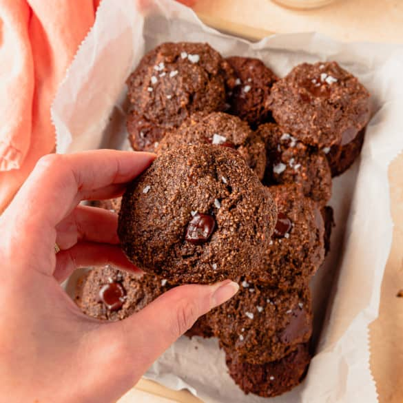 Chocolate Banana Chocolate Chip Cookie