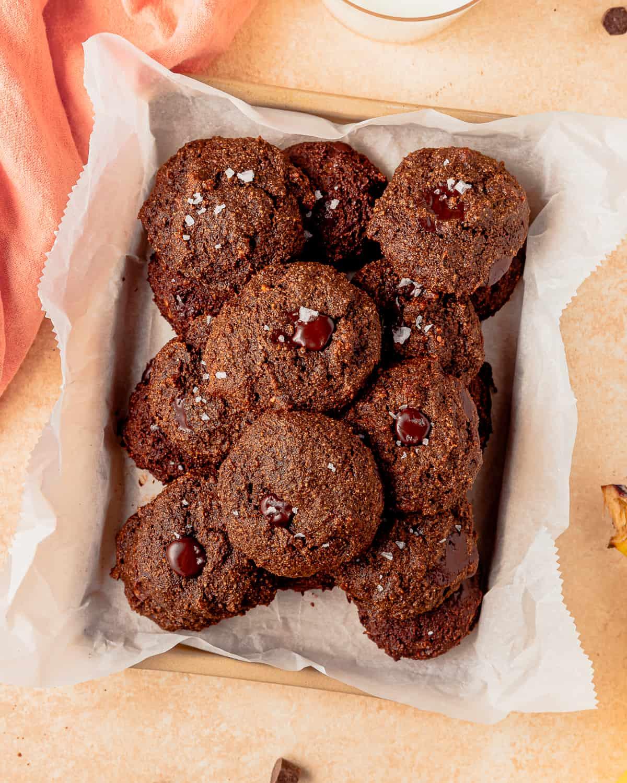 Banana Chocolate Cookies