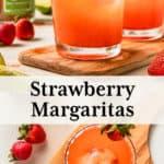 strawberry margarita pin