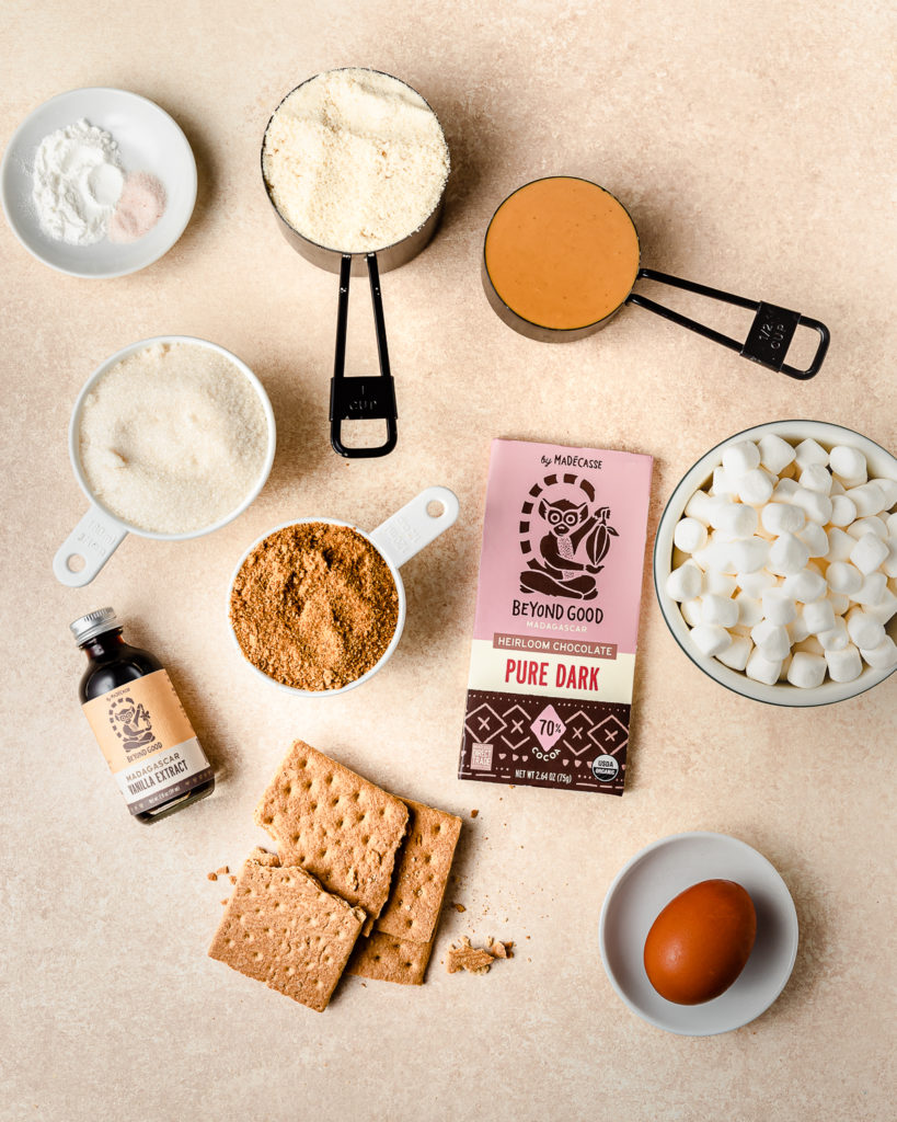 Peanut Butter Smores Cookies Ingredients